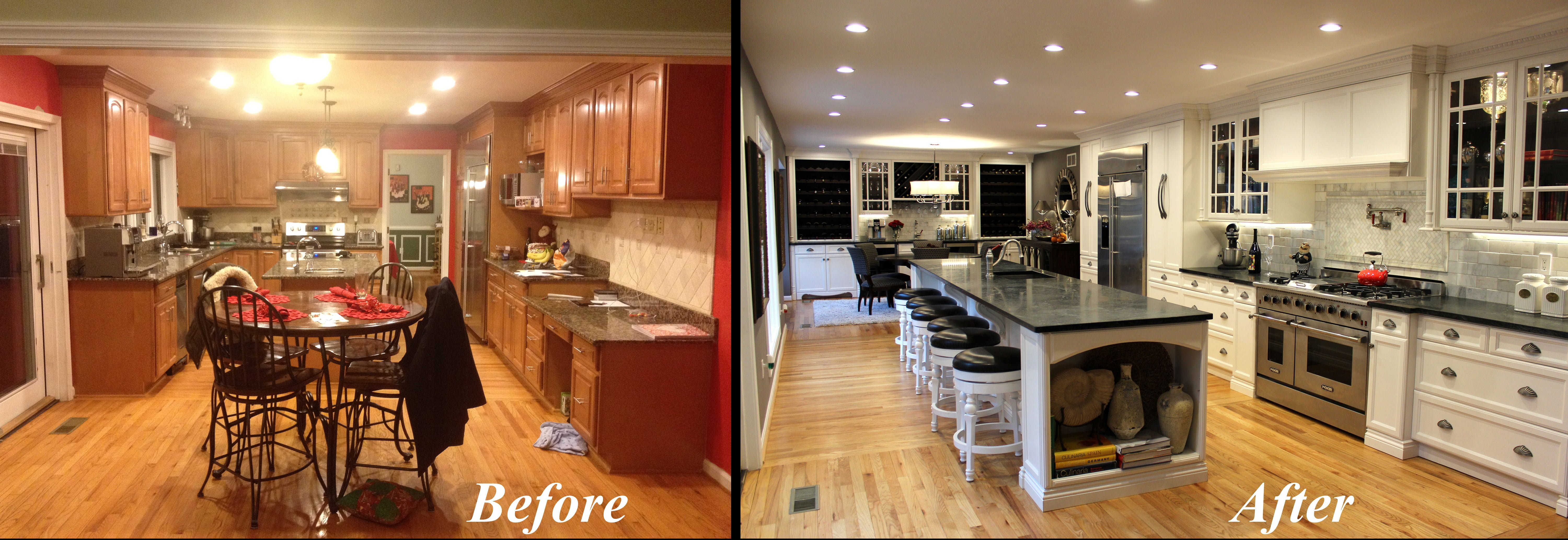 Grandior Kitchen before and after picture