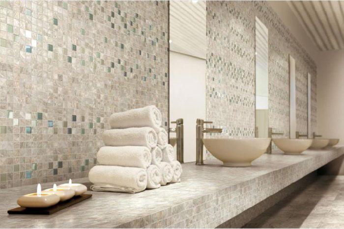 Emil Ceramica Key Stone Iron 1 x 1 Mosaic Tile