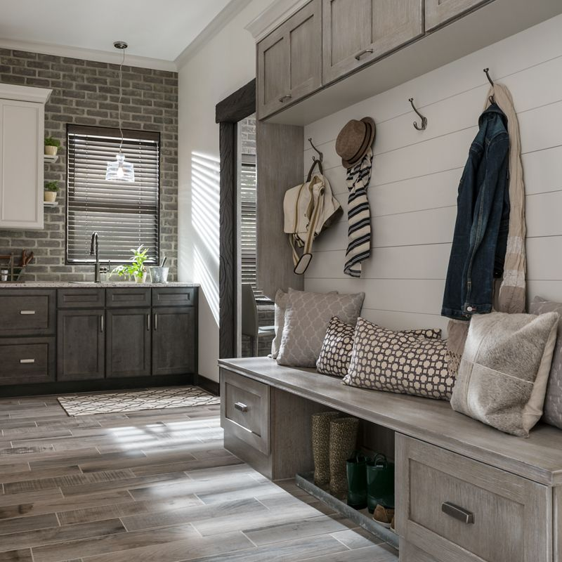 The Secret to a Great Kitchen is a Great Mudroom