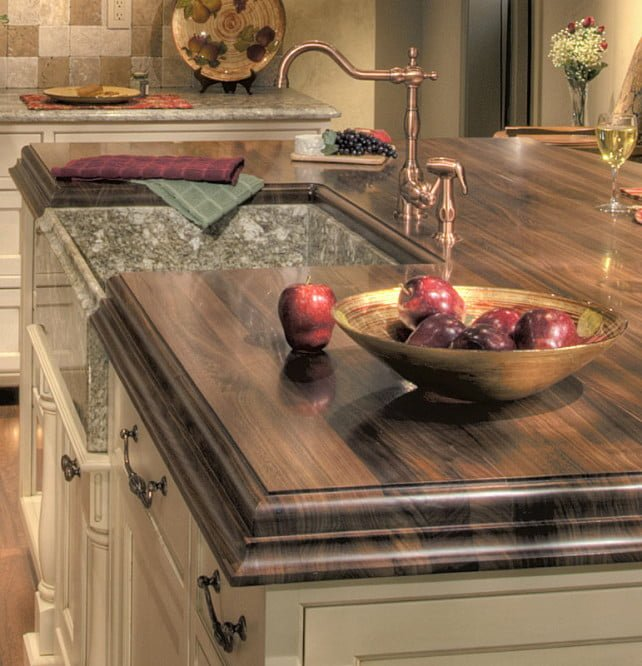 All About Kitchen Bathroom And Bar Wood Countertops